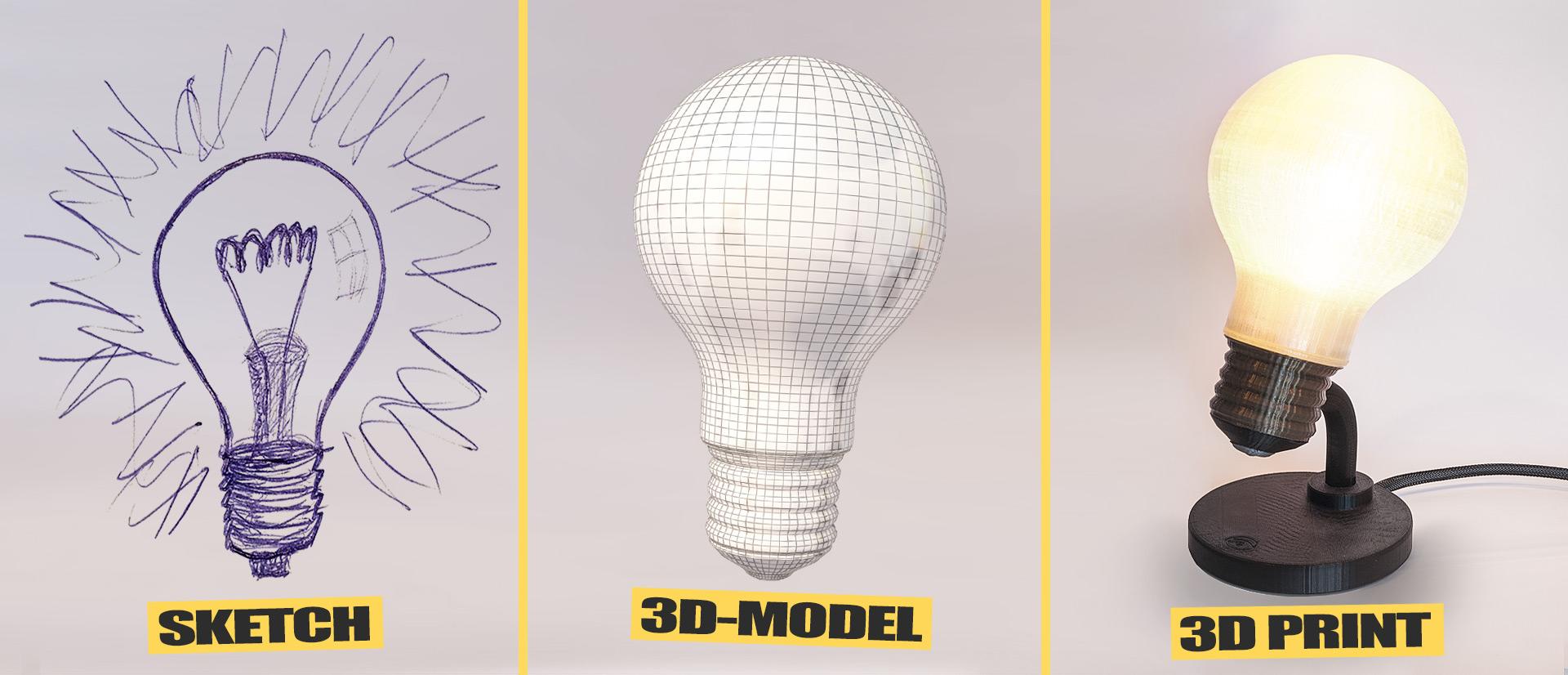 Justpressprint idea sketch 3d model 3d print
