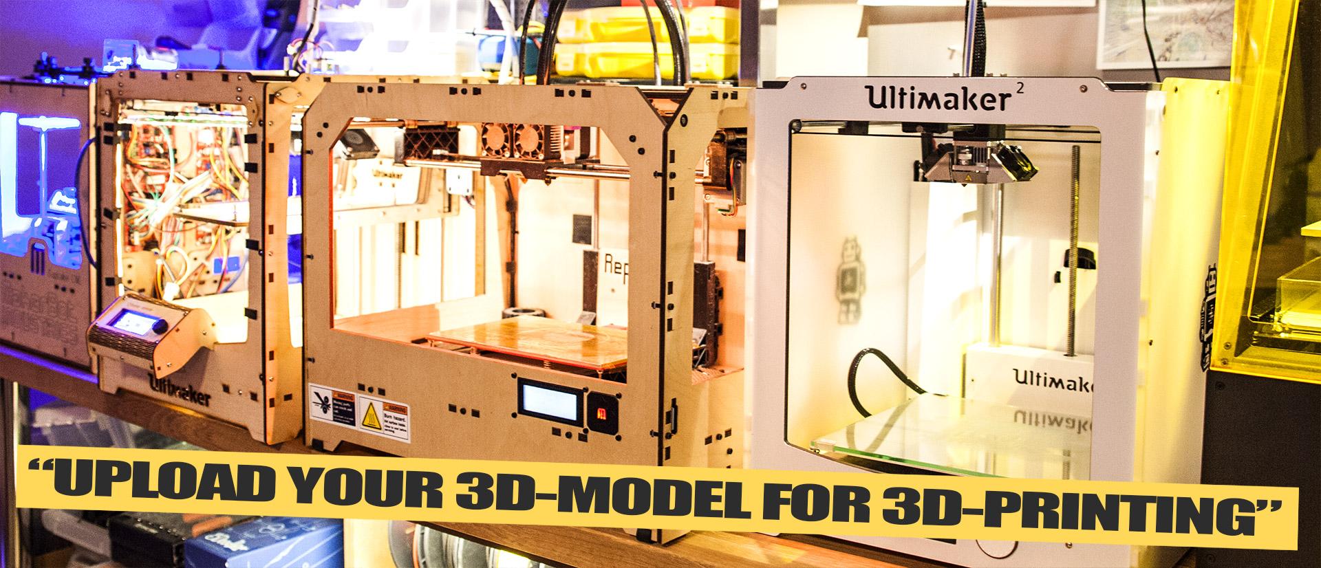 Justpressprint 3d printer models