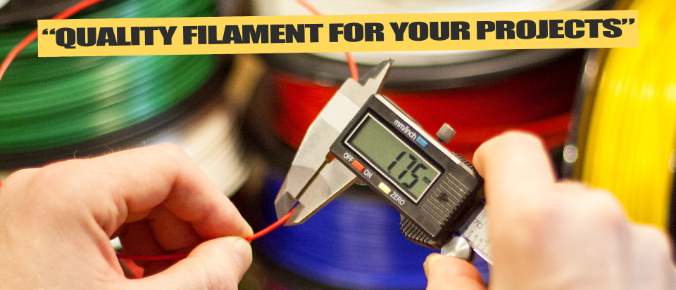 Justpressprint Quality Filament exact measure
