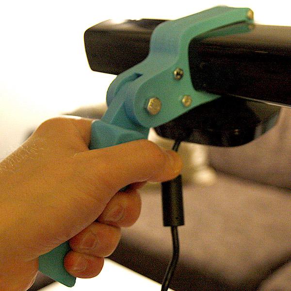 Justpressprint 3d printed Kinect Grip