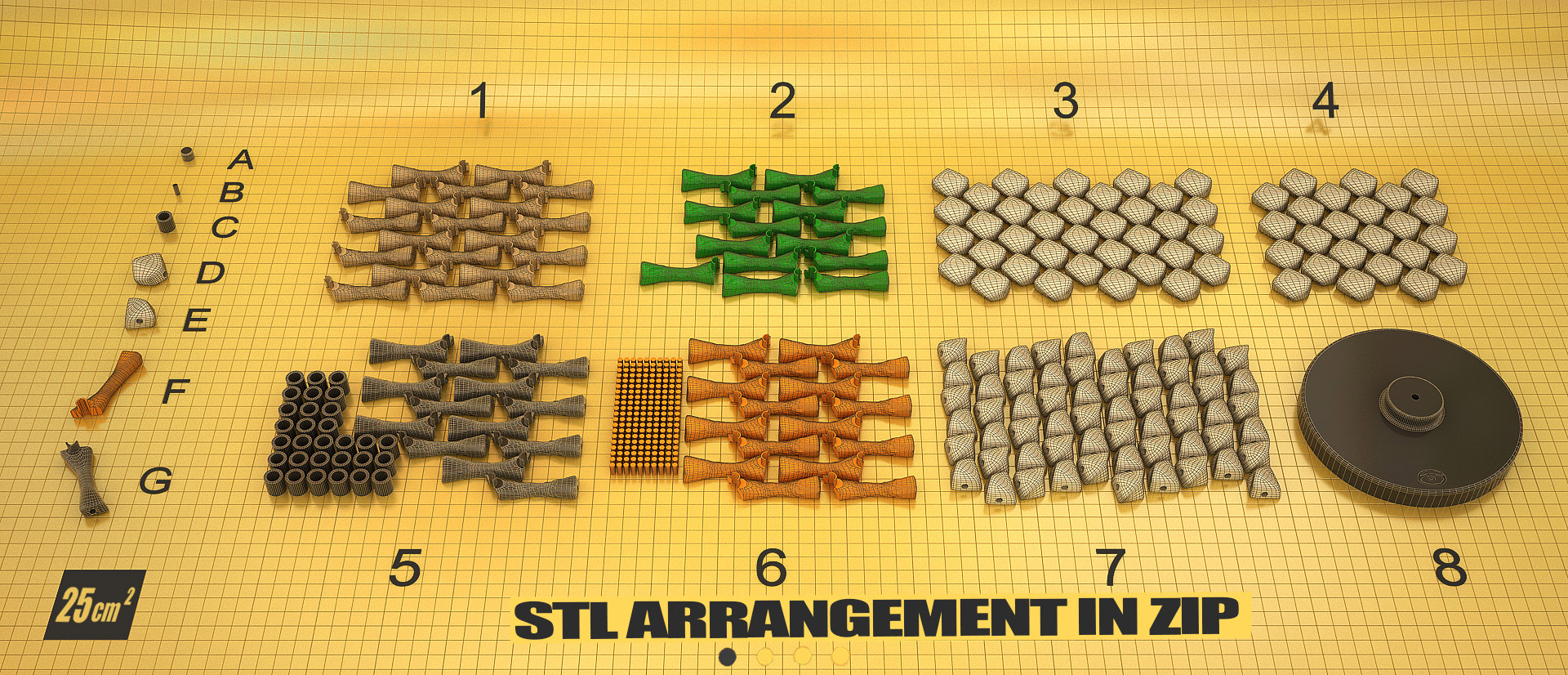 Justpressprint 3d print Dna Double Helix STL arrangement in zip