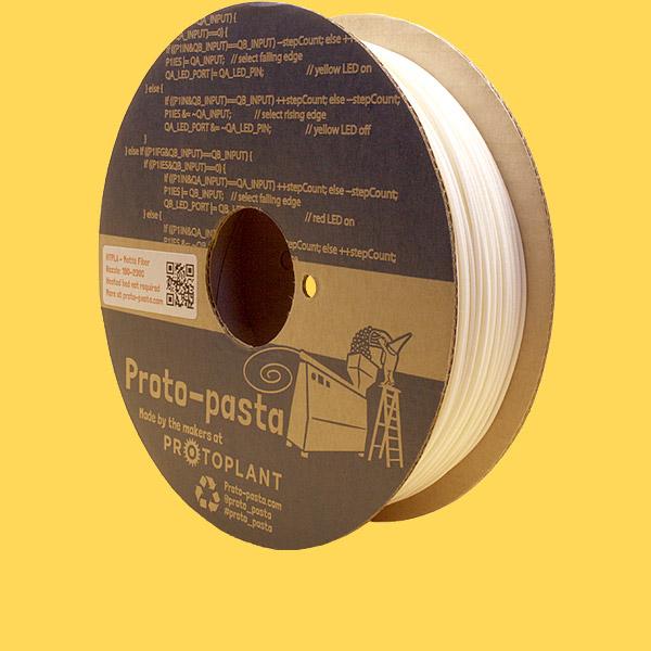 Proto-Pasta HTPLA Matte Fiber white 1,75mm 0,5kg