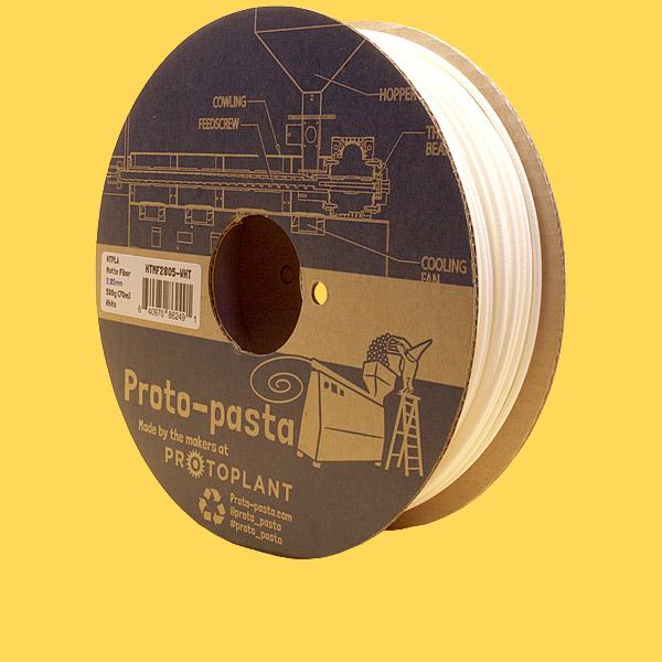 Proto-Pasta HTPLA Matte Fiber white 2,85mm 0,5kg