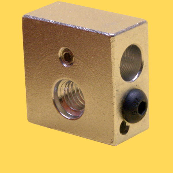 Aluminium Heating block for Makerbot MK7 and MK8