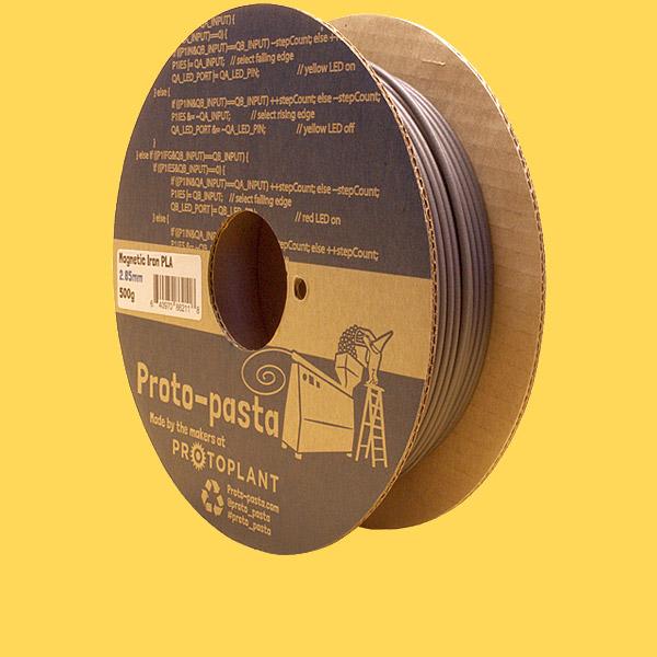 Proto-pasta magnetic iron PLA 500 grams