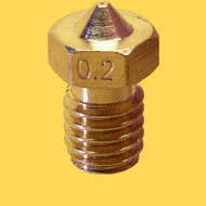 3d printer brass nozzle 1,75mm/0,2mm