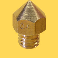 3d printer brass nozzle 1,75mm/0,4mm