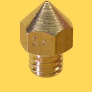 3d printer brass nozzle 1,75mm/0,4mm