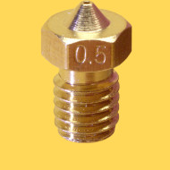 3d printer brass nozzle 1,75mm/0,5mm