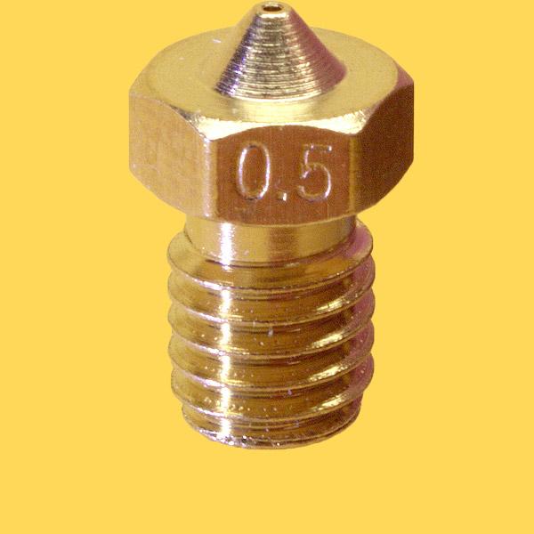 3d printer brass nozzle 1,75mm/0,5mm