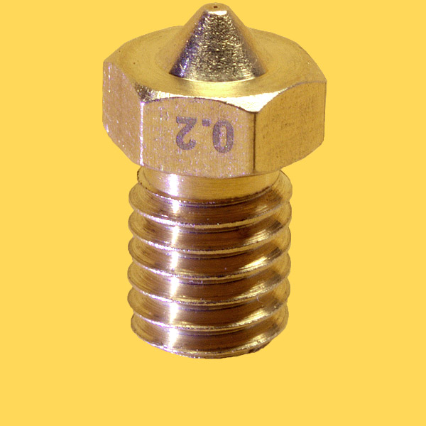 3d printer brass nozzle 3mm/0,2mm