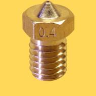 3d printer brass nozzle 3mm/0,4mm