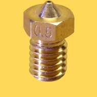 3d printer brass nozzle 3mm/0,5mm