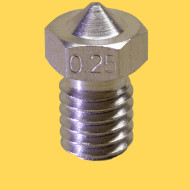 3d printer steel nozzle 1,75mm/0,25mm