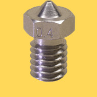 3d printer steel nozzle 1,75mm/0,4mm