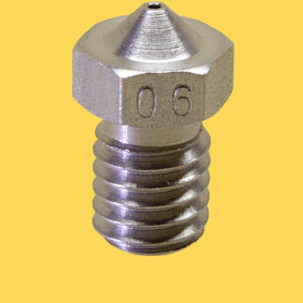 3d printer steel nozzle 1,75mm/0,6mm