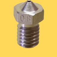3d printer steel nozzle 1,75mm/0,8mm