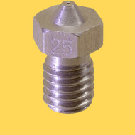 3d printer steel nozzle 3mm/0,25mm