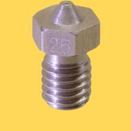 3d printer steel nozzle 3mm/0,25mm
