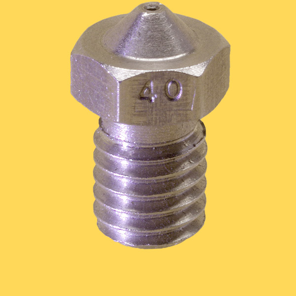 3d printer steel nozzle 3mm/0,4mm