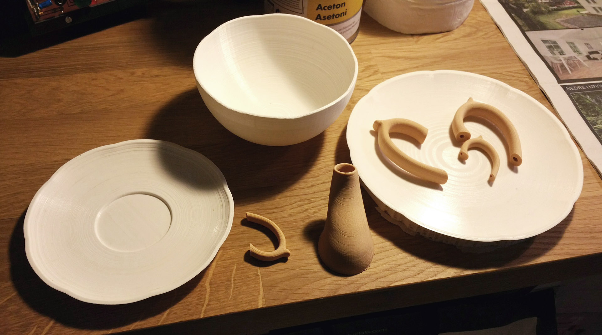 Spout and Dishes 2