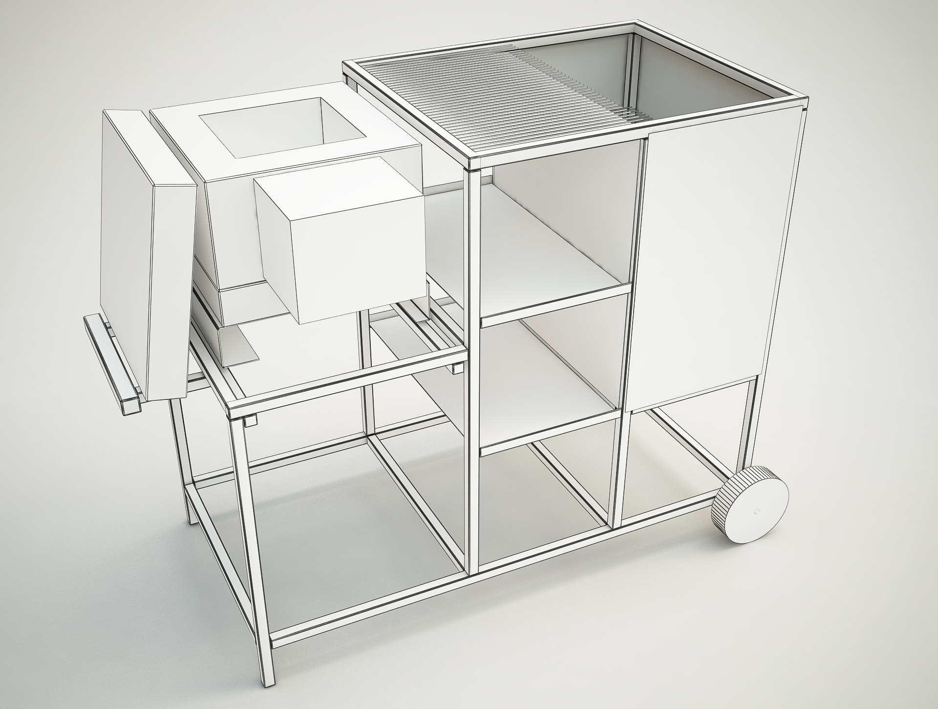 3d model Workbench
